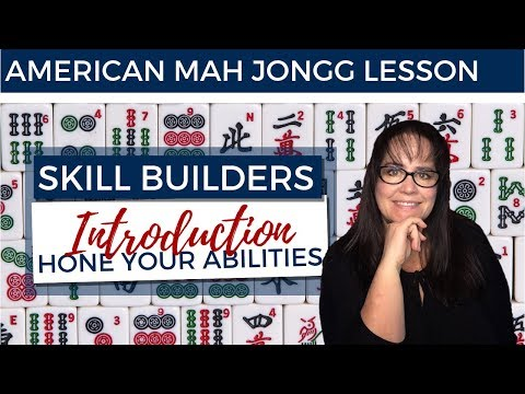 American Mah Jongg Lesson Skill Builder Introduction (mock Card)