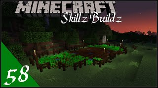 New Farming Area - Skillz Buildz | Single Player Vanilla Survival Minecraft 1.9 :: Ep58
