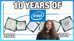 10 Years of Intel CPUs Benchmarked: i7-930, 2600K, 4790K, & Everything Since (2020)