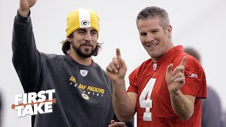 Max Values Brett Favre's Opinion About Aaron Rodgers | First Take