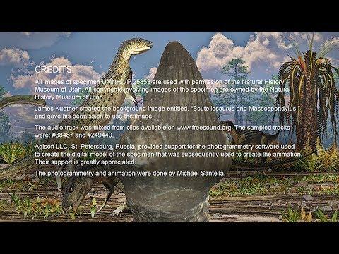 Ornithischian Dinosaur Tooth, UMNH VP 25853