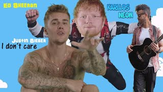 Ed Sheeran & Justin Bieber - I Don´t Care [ Cover by Karllos Neon ]
