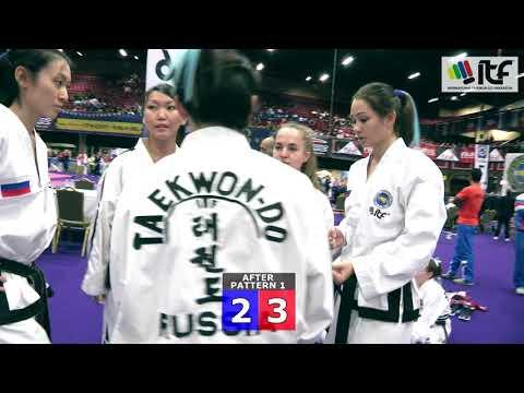 ITF WCH2017 IRELAND - Final, Team Patterns Senior Female