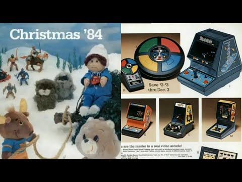 1984 Montgomery Wards Christmas Catalog With Music
