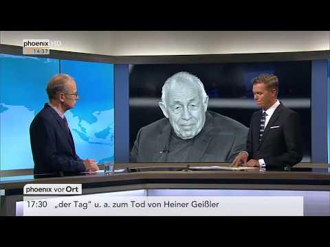 Tilman Mayer zum Tod von Heiner Geißler am 12.09.17
