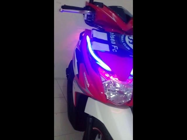 Modif lampu Alis    Honda beat CBS ISS 2017