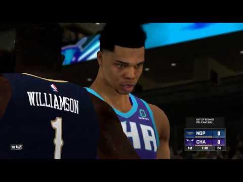 NBA2K14 2020 ROSTER- NOP @ CHA [NCR]