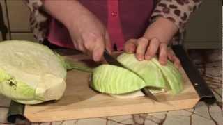 Vegnews Tv: Cabbage Wedge Salad