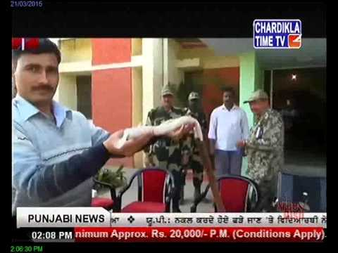 BSF recovers heroin near India-Pakistan border March 21,2015