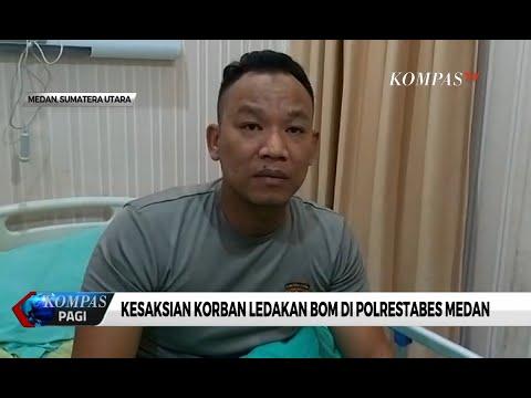 Ini Kesaksian Korban Ledakan Bom Di Polrestabes Medan