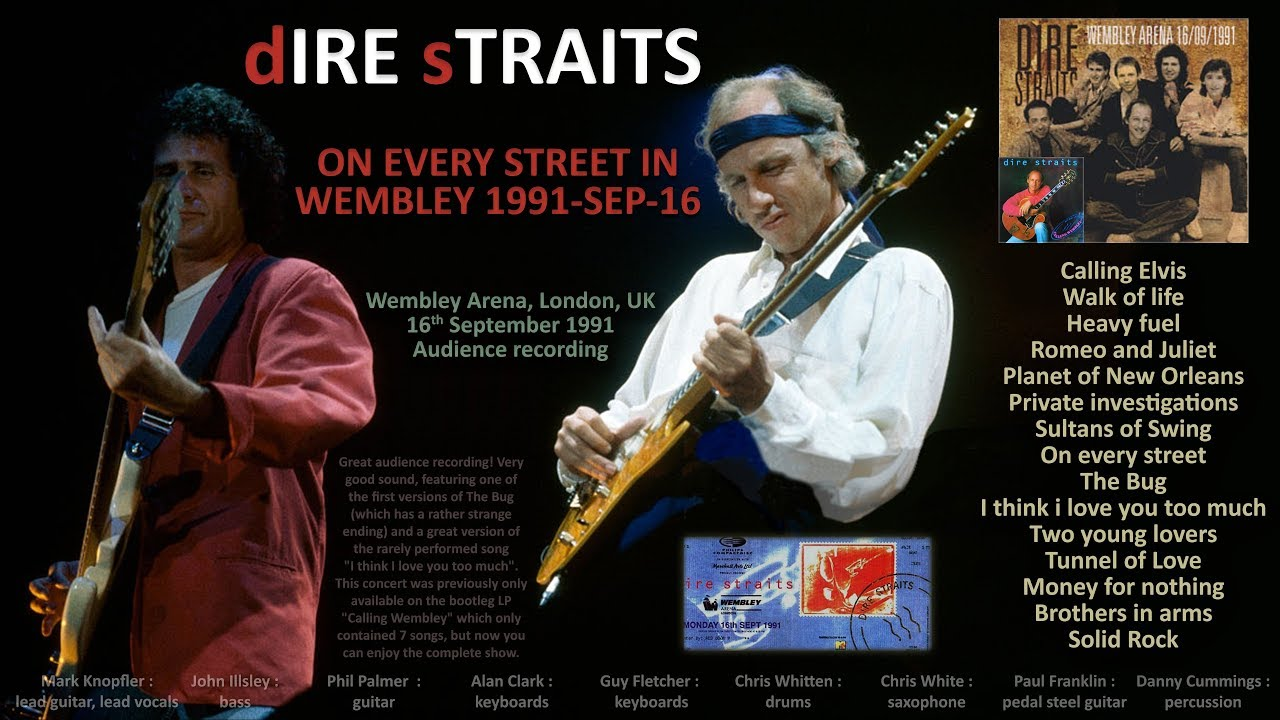 dire straits wembley does the walk