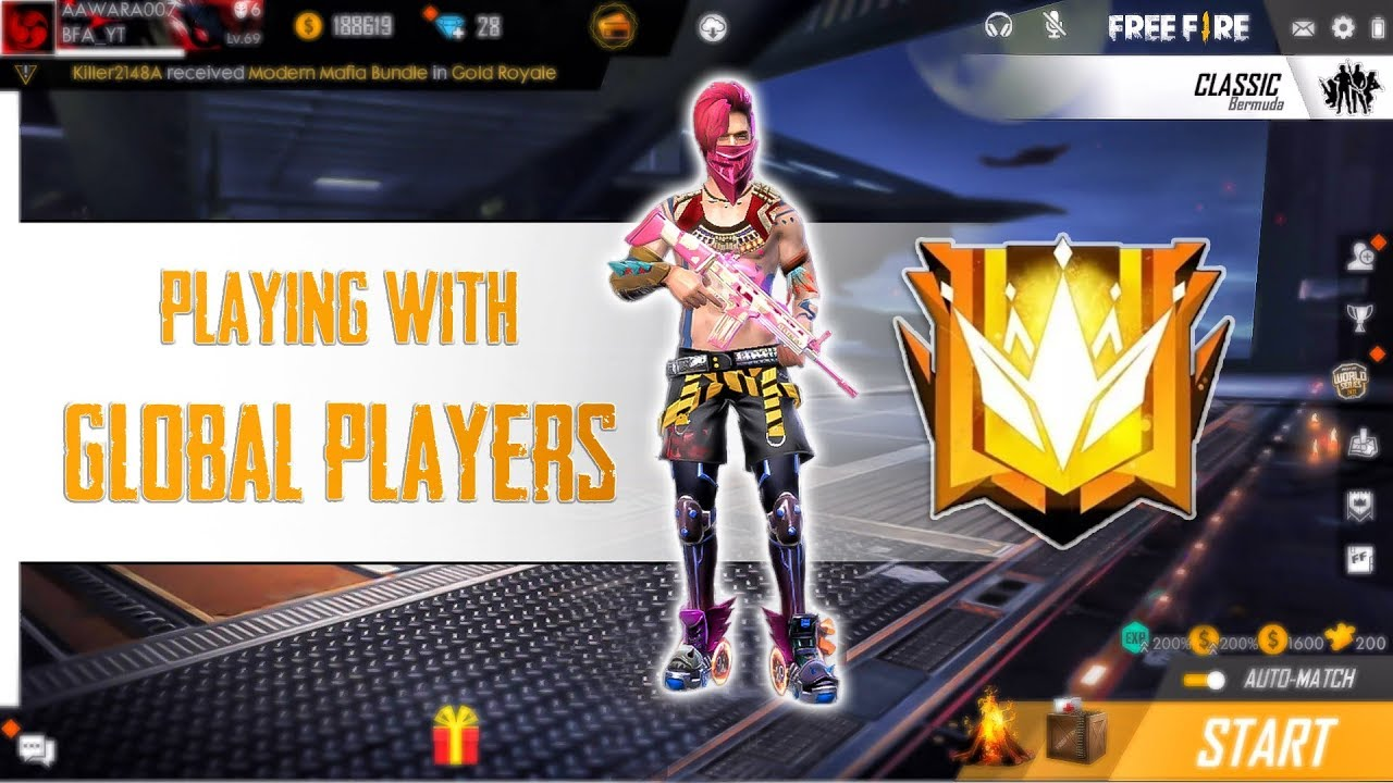 Free Fire Live Rush Game Play Aawara007 Freefire Freefirelive Youtube