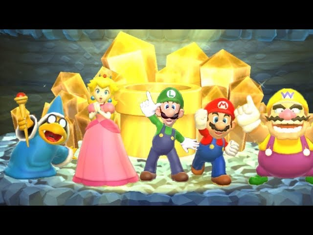 Mario Party 9 - Choice Challenge All Characters Gameplay