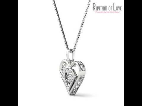 Rhythm of love heart pendant youtube rhythm of love heart pendant aloadofball Choice Image