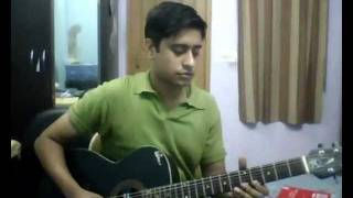 tere liye hum hain jiye on guitar
