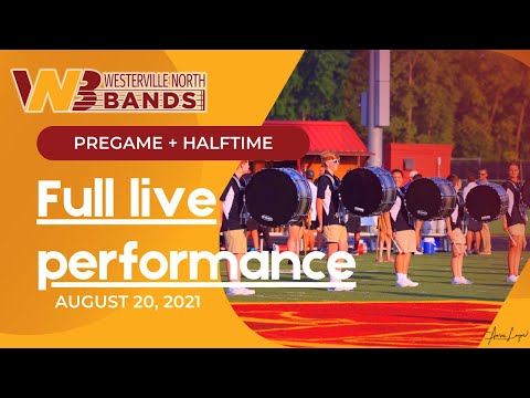 Pregame and Halftime shows - August 20 2021