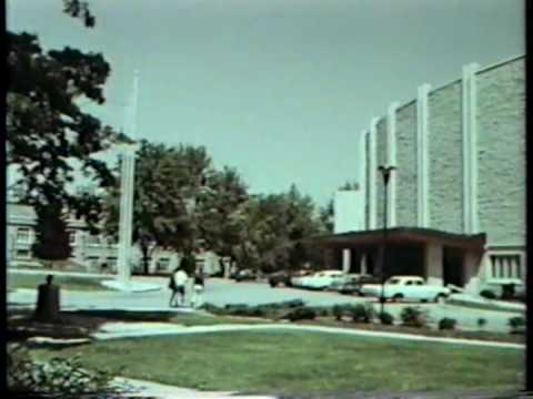 UWO University of Western Ontario 1969 16mm Footage London Ontario