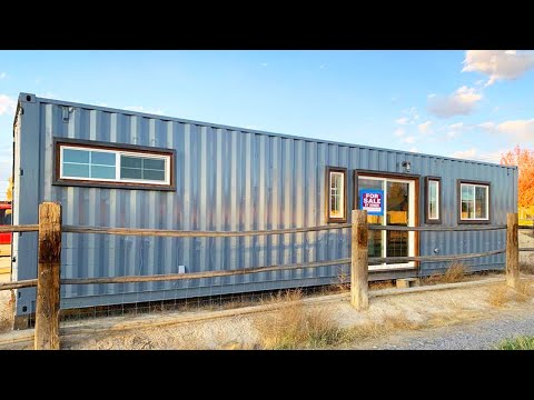40' Beautiful Professionally built Luxury Container Home For Sale