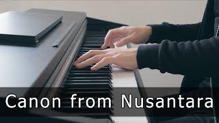 Download Mp3 Canon From Nusantara - Riyandi Kusuma  Piano