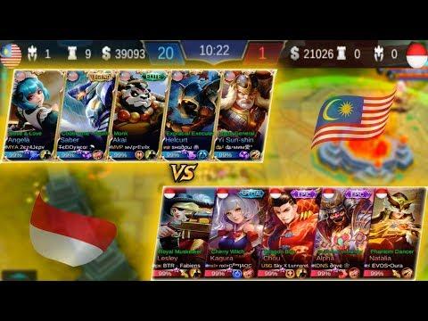 "Ada Apa Dengan Team ""INDONESIA"" ? [ Malaysia Vs Indonesia Match 2 ] National Arena Contest"