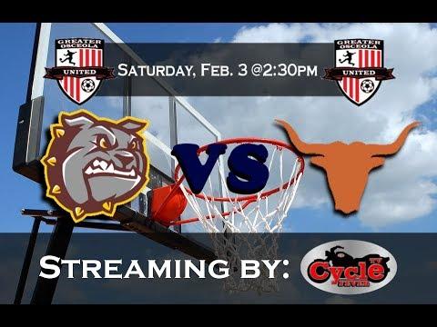 Harmony VS Saint Cloud | First Outdoor Basketball Game! | Feb. 3rd, 2018