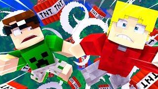 Minecraft: GUERRA DE EXPLOSÕES! C/ Mike