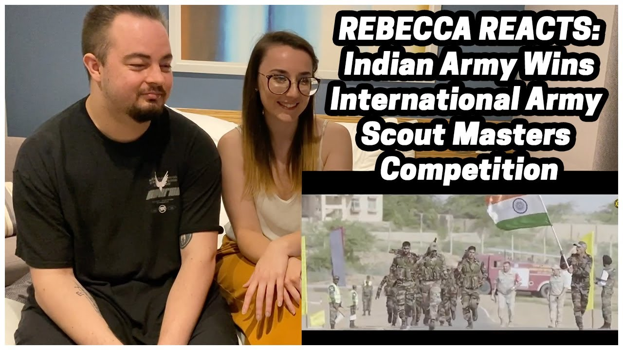 Rebecca Reacts: Indian Army Wins International Army Scout Masters Competition // FT Fandom Reactor