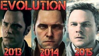 Evolution of Graphics Quantum Break 2013 - 2015