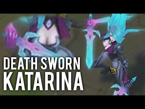 Katlife | MY THOUGHTS ON DEATH SWORN KATARINA - NEW KATARINA SKIN