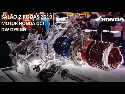 Motor Honda DCT - Africa twin - X-ADV - Gold wing 1800 - Salão 2 rodas 2019