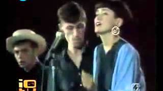 la zona retro  Gaznevada I C Love Affair original Live video promo