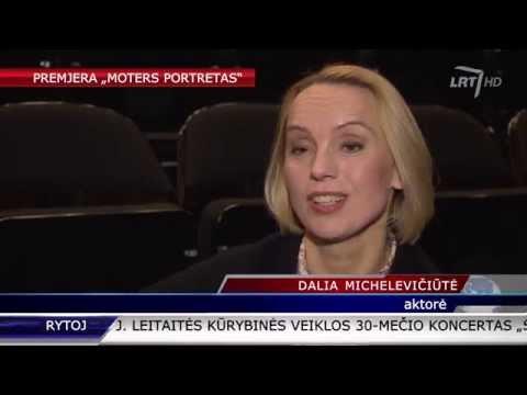 Aktorė D. Michelevičiūtė pristato spektaklį, kuriame ji – vienintelė aktorė ir režisierė