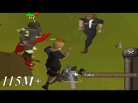 High Risk PKing - Dharok + Void Pure | 115M+ Loot | Runescape Oldschool 2007