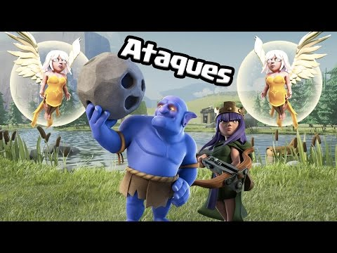 ¡¡¡FULL LANZARROCAS!!! | Ataques | Clash Of Clans Con TheAlvaro845