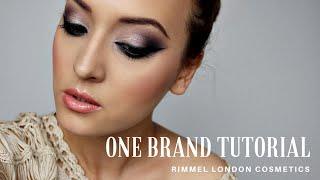 One brand tutorial: Rimmel London || Machiaj intens de toamna (+ CONCURS)