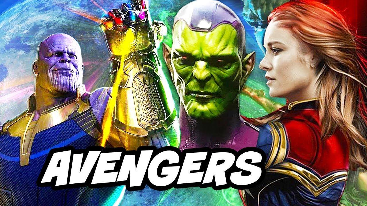 Avengers Infinity War – Captain Marvel Phase 4 Villains Teaser Breakdown