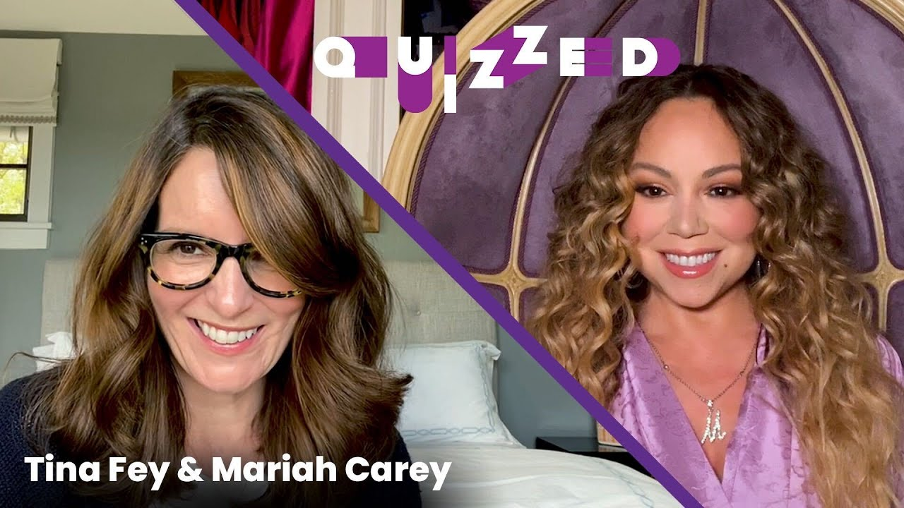 Mariah Carey Gets QUIZZED by Tina Fey on 'Mean Girls'