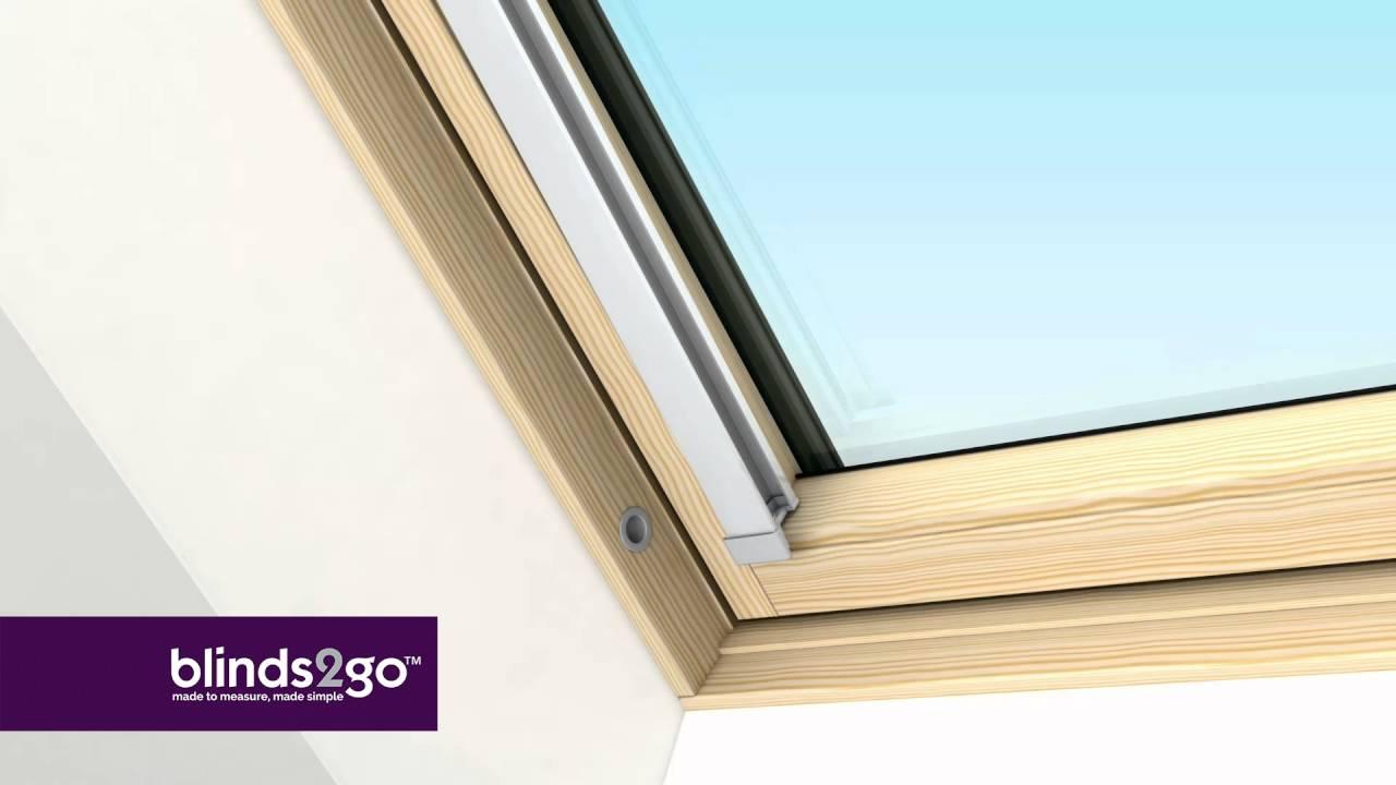 Fitting Our Blinds For Velux Fakro Rooflite Dakstra Skylight Windows Youtube