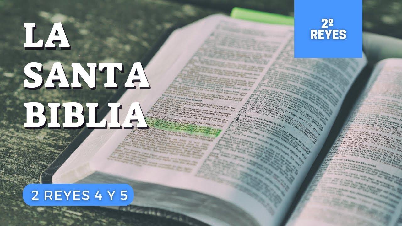 2 REYES 4, 5 (DÍA 105) LA SANTA BIBLIA || Biblia hablada ||