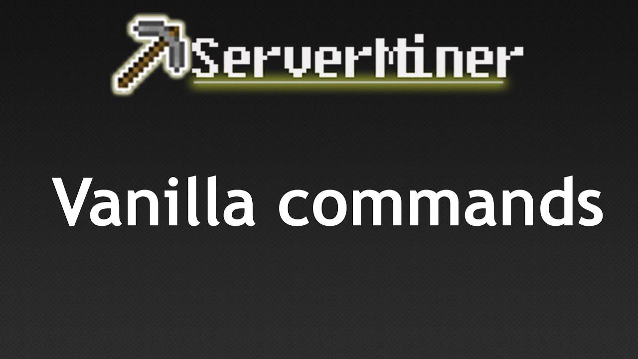 how to make custom commands for minecraft server