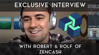 Exclusive ZenCash Interview   w/ Robert & Rolf