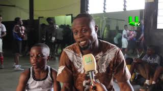 Meet 6 year old boxing prodigy in Ghana