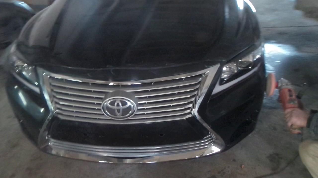 Toyota Camry белая Престиж в наличии в Москве - YouTube