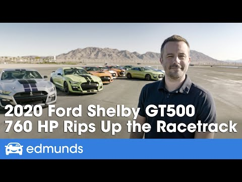2020 Ford Mustang Shelby GT500 Review — Test Drive of the Most Powerful Mustang Ever