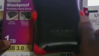 Silicon Power 1TB Armor A30 Shockproof External Hard Drive: Review