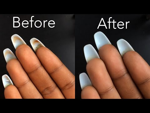 HOW TO: Clean Underneath Your Acrylic Nails