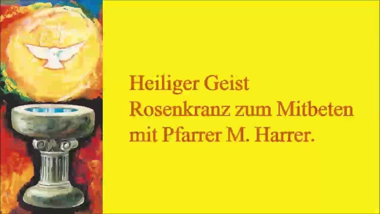 Auu >> Heiliger Geist Rosenkranz - YouTube