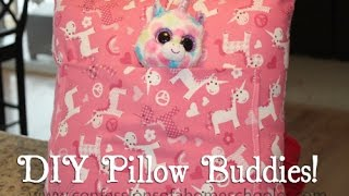 DIY Christmas Pillow Buddies Thumbnail