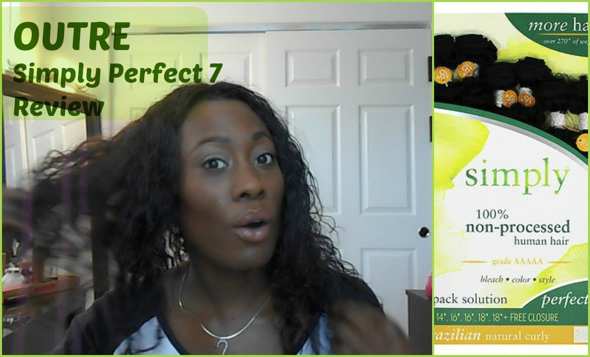 Outre Simply Perfect 7 Extension Brazilian Natural Curly Review