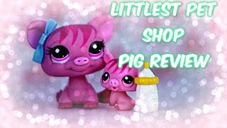 LPS | Bobble Style Pig Review! W/ Page Turner!